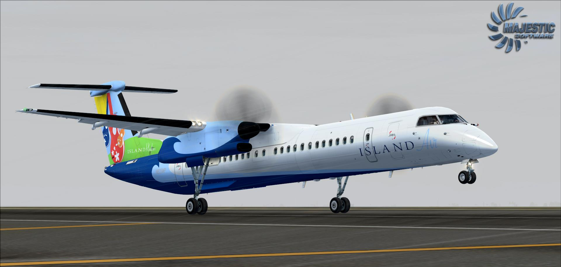 Majestic Software Dash 8-Q400 • simFlight Россия