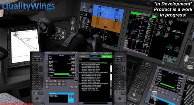 x p3d qualitywings bae 146 - VK
