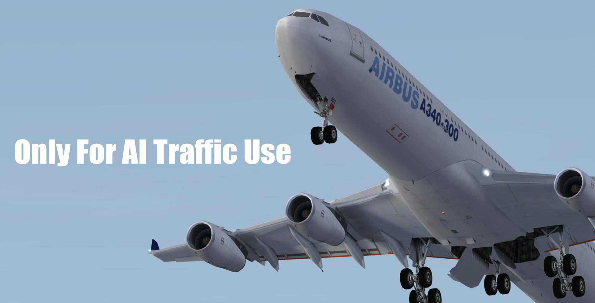 Скачать Airbus A340 для Fsx