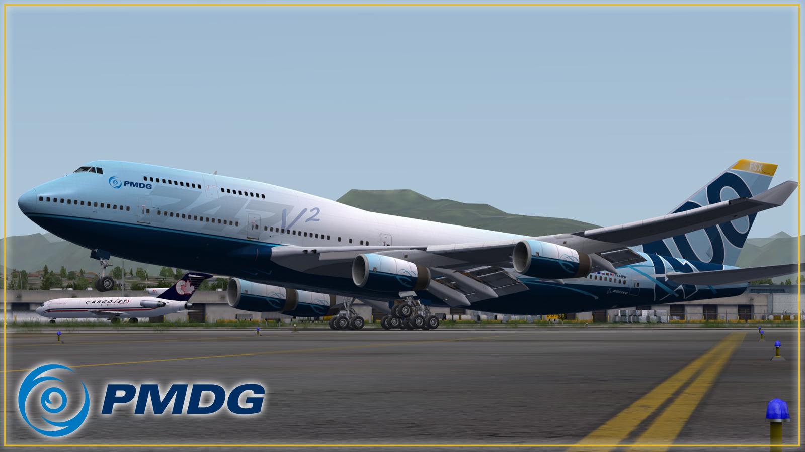 PMDG 747-400 Queen of the Skies II BUILD 3 00 8186