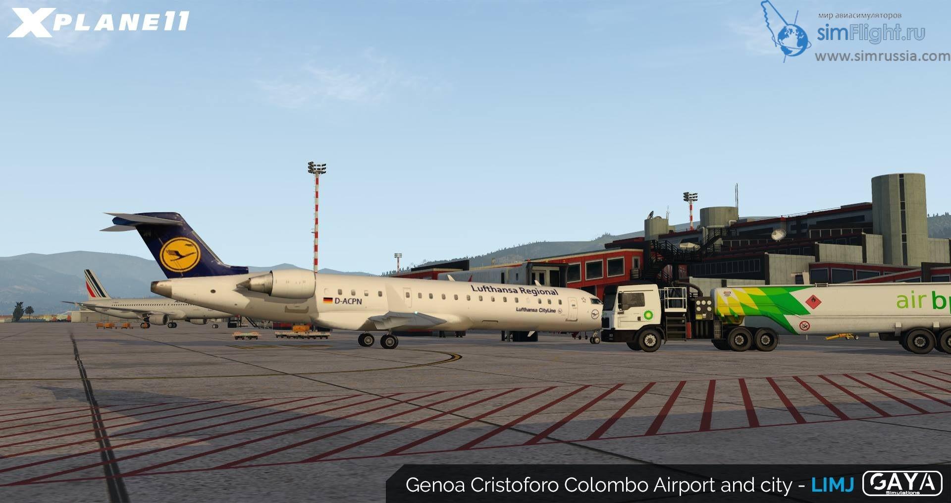 GayaSimulation - Genoa для X-Plane 11 анонс • simFlight Россия
