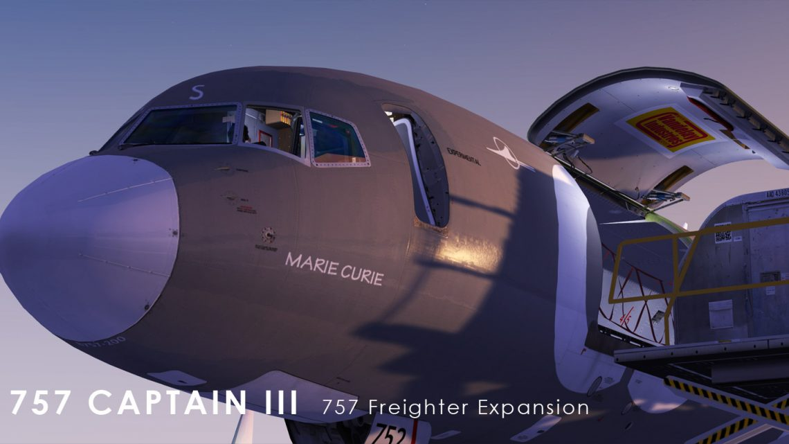 Captain Sim - 757 Freighter Expansion для FSX/P3DV3