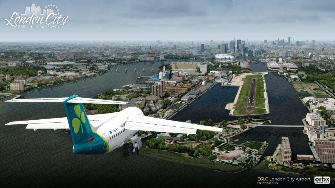 EGLC London City Airport для Prepar3D v4 • simFlight Россия